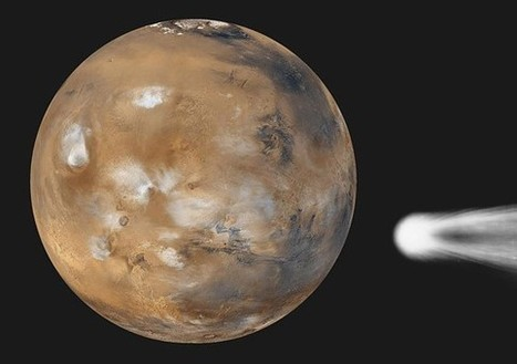 Will A Comet Impact Mars in 2014? Actually, It Might. At Least a Little. | Planets, Stars, rockets and Space | Scoop.it