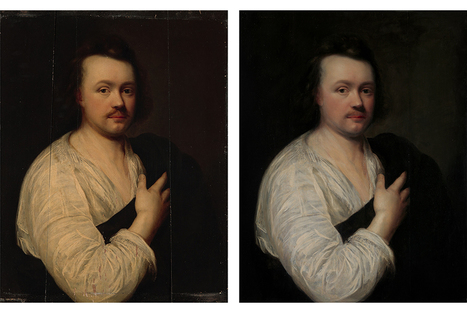 Columbia University Libraries showcase donor-funded conservation of important portrait | News in Conservation | Scoop.it