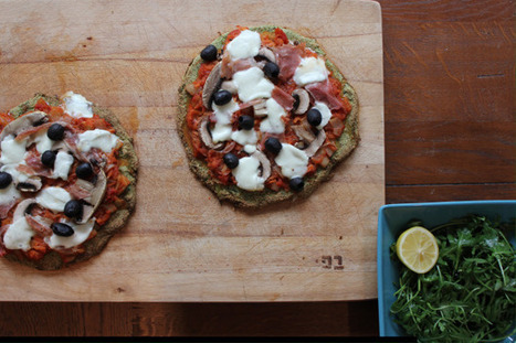 Broccoli pizza | The Basic Life | Scoop.it