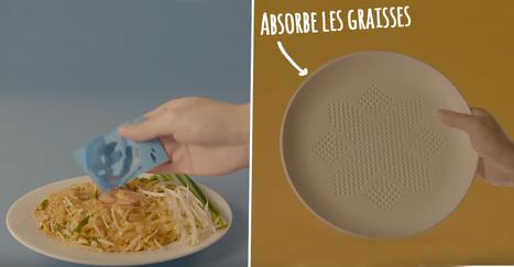 Cette assiette innovante absorbe les surplus de graisses de vos plats | Attitude BIO | Scoop.it