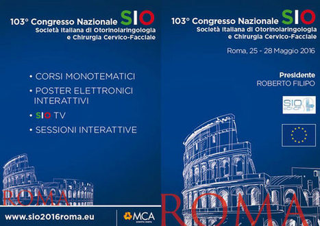 103° Congresso Nazionale SIO - 25-28 maggio 2016 Roma | Social Media Press | Scoop.it