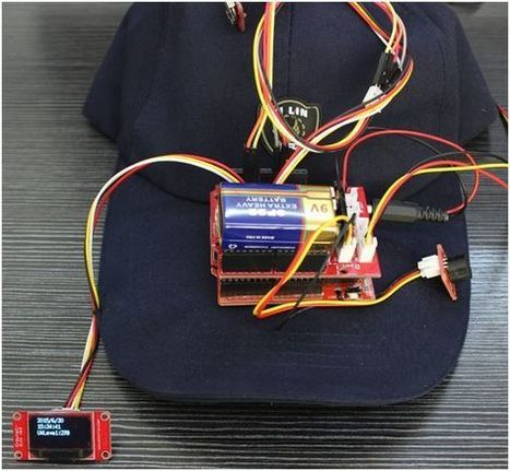 Arduino Intelligent Cap -- A Caring and Useful Present for Father   Raspberry Pi   Scoop.it