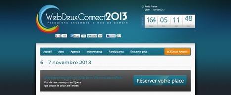 Webdeux.Connect 2013 #web2C13 j'y serai | Tendance, blog, photo | Scoop.it