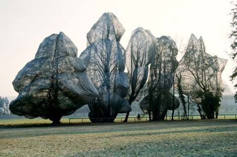 Wrapped Trees by Christo and Jeanne-Claude | Art Installations, Sculpture, Contemporary Art | Scoop.it