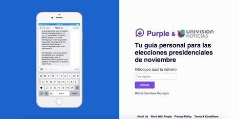 Lo que hemos aprendido de nuestra primera experiencia de mensajería en Univision — Univision Beta — Medium | Comunicación inteligente | Scoop.it