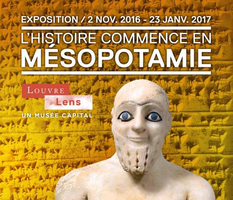 L'Histoire commence en Mésopotamie - Louvre-Lens   DataViz   Scoop.it
