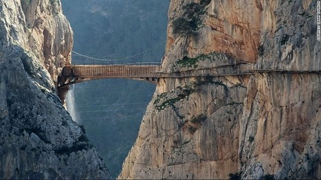 World's most dangerous footpath set to reopen in Spain - CNN.com | Xposed | Scoop.it