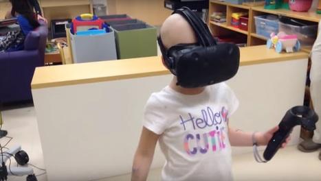VR-bril verzacht pijn voor patienten kinderziekenhuis | ICT Nieuws | Scoop.it