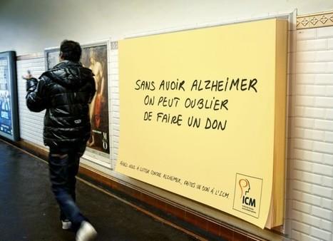Des post-its géants dans le métro pour inciter au don | Le best of des tendances et actualités de la communication et du marketing | Scoop.it