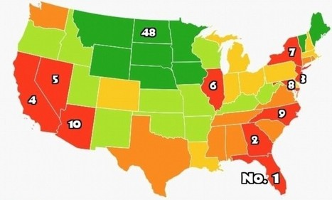 Most Stressed Out States. GA #2 | Kickin' Kickers | Scoop.it