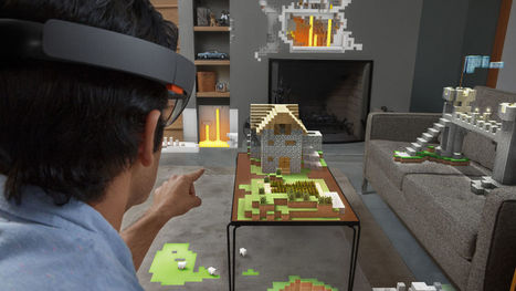 Hands On With Microsoft's HoloLens: Windows In Its Most Daring And Unexpected Form | Digital Pharma | Scoop.it