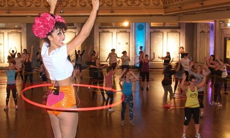 Hula hoop to a flat stomach: The fitness trend gets a new twist   Kickin' Kickers   Scoop.it