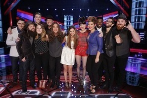 'The Voice' live blog: The Top 12 take the stage - Zap2it.com (blog)   The Voice   Scoop.it
