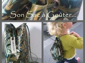Rentrée des Classes : Coudre son sac de goûter ! #idée #DIY | Best of coin des bricoleurs | Scoop.it