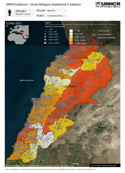 Syrian refugees in Lebanon | Martin Kramer on the Middle East | Scoop.it