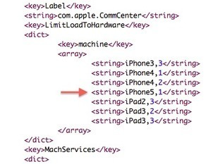 Next Generation iPhone (5,1) and iPad Also Referenced in iOS 5.1 Beta | All Technology Buzz | Scoop.it