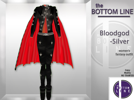 Bloodgod Silver Outfit by the Bottom Line | Teleport Hub | Second Life Freebies | Scoop.it