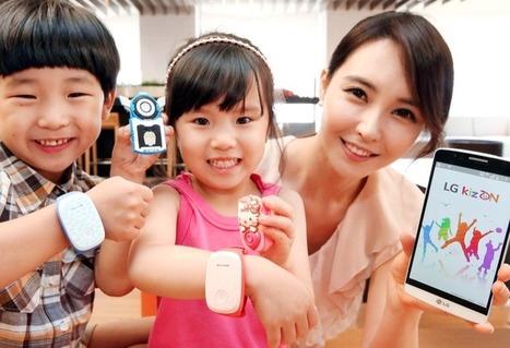 LG KizON : gardez la trace de vos enfants avec un GPS et un smartphone ou une tablette | Le Monde 2.0 | Scoop.it