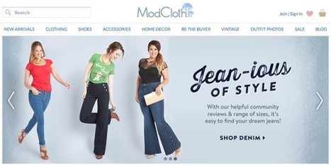 Online Retailer ModCloth Becomes First Fashion Company to Sign Anti-Photoshopping Pledge | Remake | Scoop.it