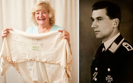 The women who stole downed German airman's silk parachute to make knickerbockers - Telegraph | World War II News | Scoop.it