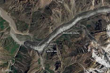 Speeding glacier barrels through valley | Conformable Contacts | Scoop.it