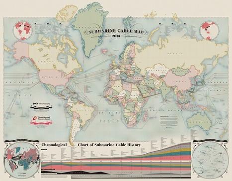 Ces 244 câbles sous-marins qui font d'Internet un réseau | Libertés Numériques | Scoop.it
