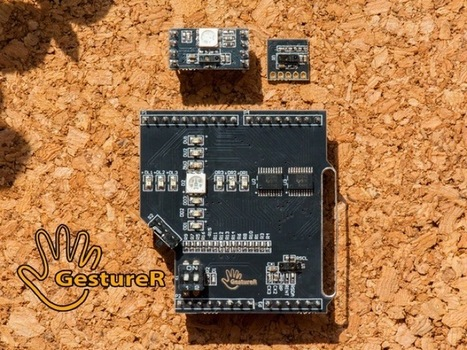 GestureR Arduino Gesture Sensing Module (video) - Geeky gadgets   Raspberry Pi   Scoop.it
