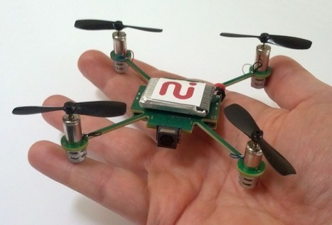 Meet MeCam, The $50 Surveillance Drone That Will Watch You Wherever You Go | The Asymptotic Leap | Scoop.it