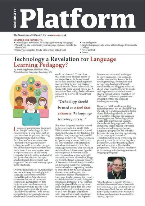 Tea and Teaching • A blog about technology in language teaching | Spanish | Scoop.it