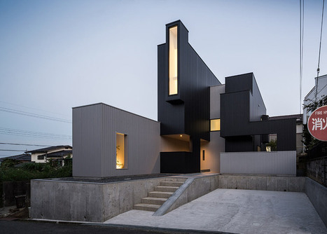 Kouichi Kimura's Scape House uses a variety of windows to create a hierarchy of views | Inspired By Design | Scoop.it