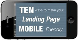 10 Ways to Make Your Landing Page Mobile-Friendly | Scrittura | Scoop.it