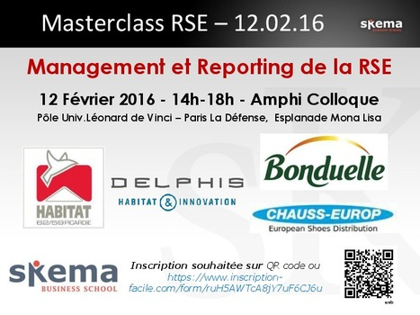 Save the date : Management et Reporting RSE | The Kore ! | Scoop.it