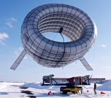 Altaeros Energies développe une éolienne volante | Actinnovation© | Robotique et developpement durable 3501 | Scoop.it