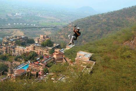 Thrilling Zipline  Adventure in Neemrana with Flying Fox | Most Adventurous Aerial tour in India with Flying Fox | Scoop.it