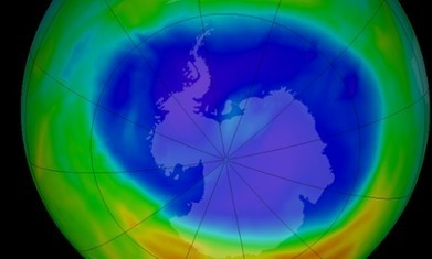 Ozone hole remains size of North America, Nasa data shows | Nature enviroment and life. | Scoop.it