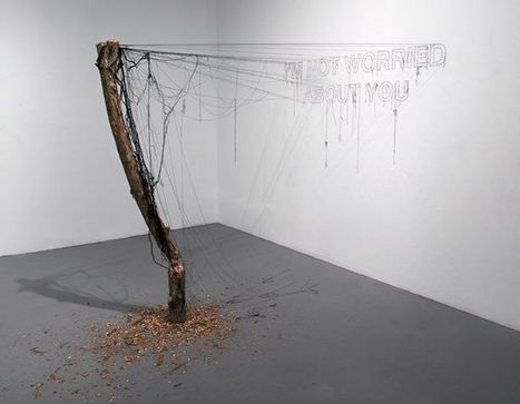 Jeffrey Michael Austin: I'm Not Worried About You | Art Installations, Sculpture, Contemporary Art | Scoop.it