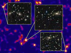 La matière noire cartographiée jusqu'à 1 milliard d'années-lumière   Beyond the cave wall   Scoop.it