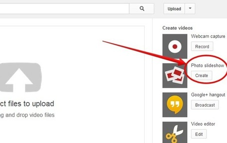 5 Steps to Create Stunning Slideshows with Audio Using YouTube | Twitter Ed Tech Source | Scoop.it