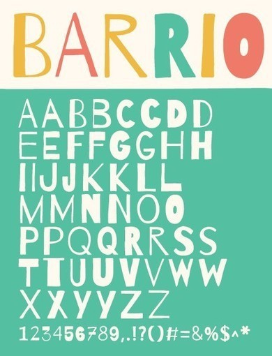 The 100 Greatest Free Fonts for 2014 | Street-art Design Grafititi et Gros minet | Scoop.it