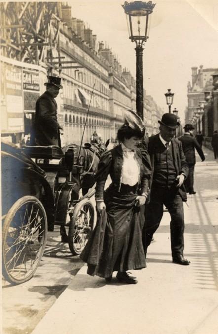 Edwardian Street Fashion in London and Paris, 1905-1908 | Auprès de nos Racines - Généalogie | Scoop.it
