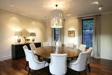 Large Round Dining Room Table | News Info | Scoop.it
