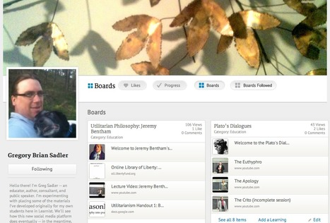 Philosophy Educator Using Learnist to Enhance Online Classroom | Ciudad y urbanismo | Scoop.it