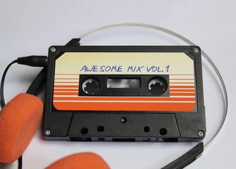 Un casette reproductor de MP3 (Awesome Mix Vol.1) | MLKtoSCL | Scoop.it