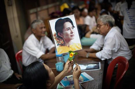 Freedom for Burma's Aung San Suu Kyi - Photo Essays | Aung San Suu Kyi: an international icon of resistance and hope | Scoop.it