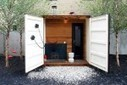 Self-Sufficient Shipping Container Sauna Box Will Get You Hot & Steamy | Container Architecture | Scoop.it