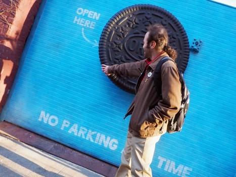 Oreo installe une mystérieuse porte à ouvrir pour surprendre les New-Yorkais | Habillage Urbain | Scoop.it