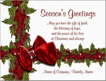 Christmas greetings 2014 holiday sayings | shopping and savings | Scoop.it