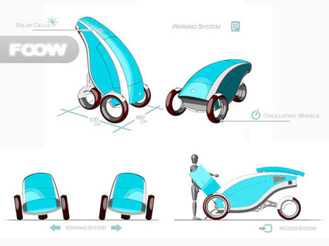 FOOW Eco Rider by Pietro Russomanno | Tuvie | Power, Energy & Independence | Scoop.it