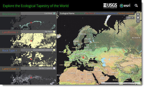 The First Ecological Land Units Map of the World | Esri Insider | geoinformação | Scoop.it