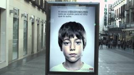 This Ad Has a Secret Anti-Abuse Message That Only Kids Can See | Design, Literacy and Multimodality | Scoop.it